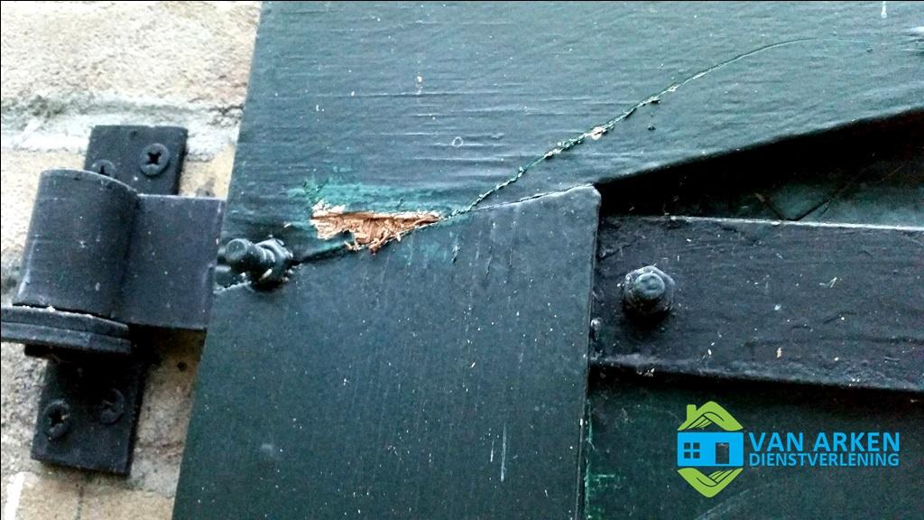Beschadigde deuren